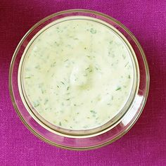 Cilantro-Lime Aioli for fries :) really yummy. i also added one green onion diced up