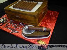 Cohiba Cigar Cake Man's Birthday Cake