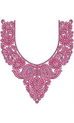 Estonian Fashion Clothing Embroidery Design