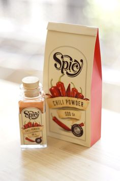 SPICY Packaging by Huy Tran, via Behance