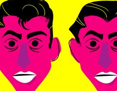 """Check out new work on my @Behance portfolio: """"""""Famous Faces"""" Illustration project"""" http://on.be.net/1KnqqRH #illustration #arcticmonkeys #ilustracion #drawing #draw #music"""