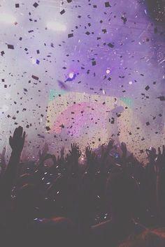 iPhone Wallpaper 5, 6 - Rave Confetti