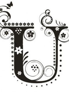 Letter U Royalty Free Stock Images