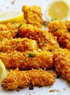 Crispy Baked Fish Sticks Recipe | Grandbaby Cakes