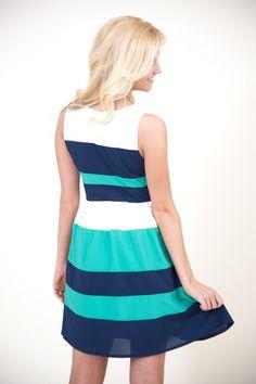 Forget me Nautical dress.