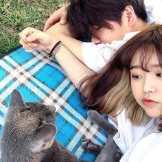 Imagen de korean girl, ulzzang, and korean couple