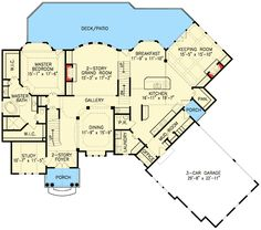 4 Bedroom Splendor with Options - 15803GE | 1st Floor Master Suite, Butler Walk-in Pantry, CAD Available, Corner Lot, Den-Office-Library-Study, European, Jack & Jill Bath, Luxury, MBR Sitting Area, Multi Stairs to 2nd Floor, PDF, Photo Gallery, Premium Collection, Traditional | Architectural Designs