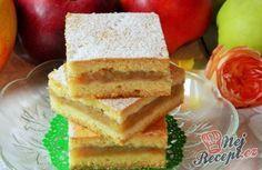 Legendární jablkový koláč našich babiček