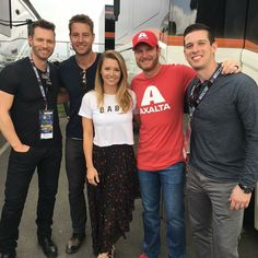 Days Eric Martsolf with DaleJr.