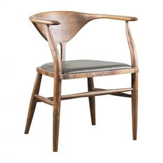 Peking B Chair - Olive Leather - Chairs - Dining Chairs - Dining - HD Buttercup Online – No Ordinary Furniture Store – Los Angeles & San Fra...
