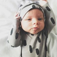 It can't get any cuter than this! #odinhendrix in our Little Wild One layette // www.kidwild.com
