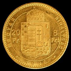 Currently at the Catawiki auctions: Hungary - 8 Forint - 20 Francs 1886 Franz Joseph I gold Gold Coins, Hungary, Old Photos, Joseph, Notes, Stamp, Dreams, Lettering, Silver
