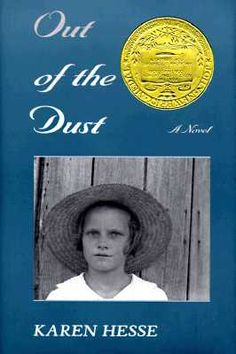 Book -  Out Of The Dust by Karen Hesse - I really liked this book