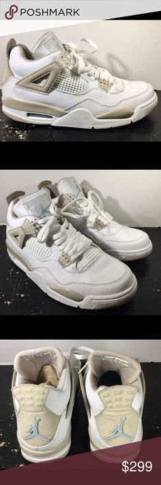 09287320b924f4 Nike Air Jordan IV Sand 2006 Release Rare Jordan 2006 release Sz 11 women s  Sz 9.5 Men s 9 10 condition just look at the pics