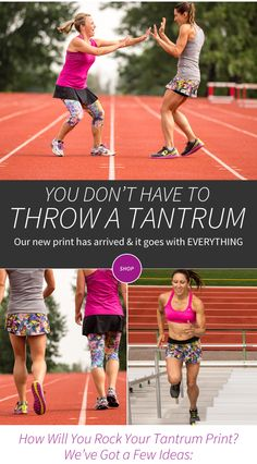 www.skirtsports.com #REALwomenmove #skirtsports #converttoskirt   The Tantrum print is my absolute favorite of the Fall 2015 line! Don't miss out - grab one now available in several different styles!