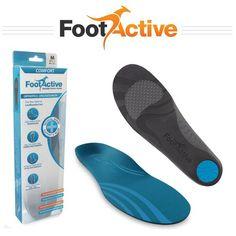 FootActive COMFORT - para el dolor de talón, Espolones, Fascitis Plantar, dolor…