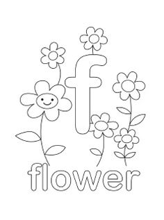 Free printable alphabet coloring pages in lovely original illustrations. In English and Spanish, uppercase and lowercase.