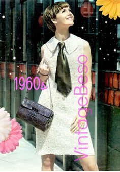 INSTANT DOWNlOAD  PdF Pattern  Dress Crochet Pattern 1960s