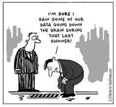 The Lighter Side Of The Cloud – Data Loss