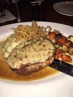 Restaurant Copycat Recipes: Cooper's Hawk Winery Maple Mustard Pretzel Crusted Pork Restaurant Recipes, Dinner Recipes, Fall Recipes, Cookbook Recipes, Cooking Recipes, Mustard Pretzels, Pork Tenderloin Medallions, Mustard Pork Chops, Pork
