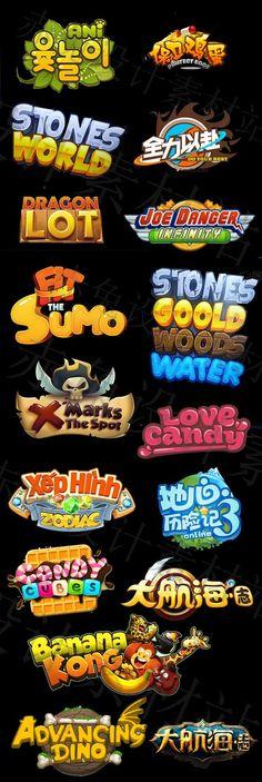 desain judul game