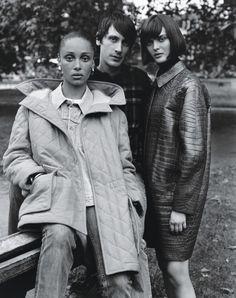 """Ladies of London,"" by Alasdair McLellan for W Magazine October 2014"