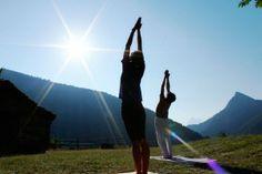 Vi overvejer Yoga hver morgen :)