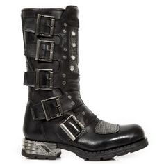 Botte en cuir M.MR032-C1 New Rock