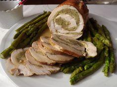La buona cucina di Katty: Rotolo di tacchino agli asparagi