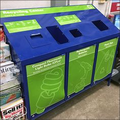 This Hardware Superstore Recycling Center caters to a different clientele and need than most. See that CFLs and Rechargeable Batteries are supported as.