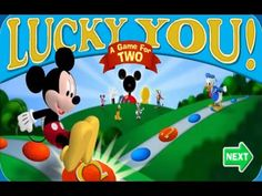 mickey mouse clubhouse games lucky you a game for two disney jr games - Childrens Games Free Disney