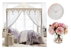 """1"" by yeminaduper on Polyvore featuring interior, interiors, interior design, hogar, home decor, interior decorating, PBteen y bed"