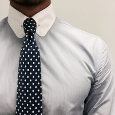 Kiton Napoli 7 fold tie x Gagliardi collar bar shirt
