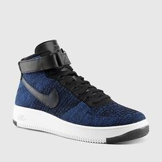 NEW Nike Air Force 1 AF1 Ultra Flyknit Mid Game Royal Blue 817420-400 SZ 8 #Clothing, Shoes & Accessories:Men's Shoes:Athletic #socialmatic05 $150.00