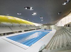 London Olympics aquatic center