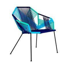 Zen Silla tipo Acapulco de Acero y PVC - Varios Colores