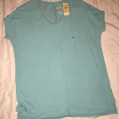 American Eagle Soft n Sexy tee American Eagle soft and sexy tee. Insanely soft ribbed T, tunic length. Brand new with tags, sizing is xs/s depending on how loose you want the fit. Meant to be a big slouchy shirt. American Eagle Outfitters Tops Tees - Short Sleeve