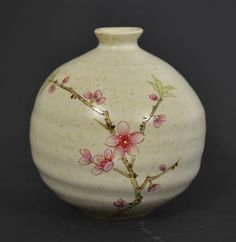 100 Handmade HandPainted Vase Chinese Flower Short Fat Vase Pottery Ceramic for Home Indoor Outdoor Decoration ** You can find more details by visiting the image link. (This is an affiliate link) Chinese Flowers, Home Decor Vases, Flower Shorts, Indoor Outdoor, Outdoor Decor, Image Link, Fat, Pottery, Hand Painted