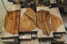 Tasmanian Blackwood billets for ukulele sets , guitar sets, solid body guitars ~ Hearne Hardwoods Inc.