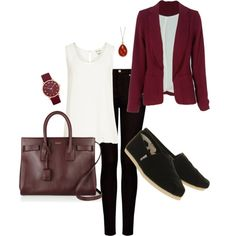 Love the outfit, minus the toms.. not for this outfit..