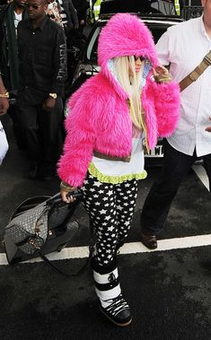 Nicki is a Trinidadian-born American rapper, singer, songwriter and actress.