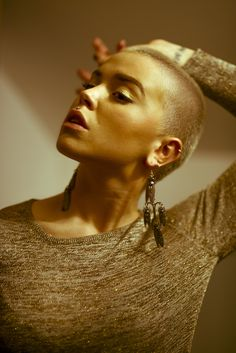 40 Beautiful Bald Women Styles to get Inspired with <><> More info: Short Hair Cuts, Short Hair Styles, Girls With Shaved Heads, Buzzed Hair, Shave My Head, Bald Girl, Shaved Hair, Cut And Color, Hair Loss