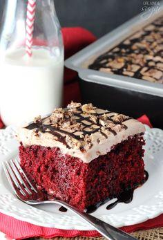 ... red velvet poke cake nutella red velvet poke cake red velvet cake