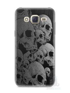 Capa Capinha Samsung J7 Caveiras - SmartCases - Acessórios para celulares e tablets :)