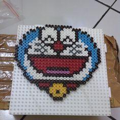 Doraemon hama beads by likeyshops