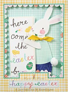 Meri Meri Happy Easter Invitations (Set of 8) by Meri Meri. $6.99. This adorable set of 8 invitations and envelopes from Meri Meri features an embellished Easter bunny - perfect for an Easter party.