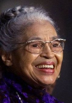 """Rosa McCauley Parks (1913–2005) was an African American civil rights activist whom the U.S. Congress dubbed the """"Mother of the Modern-Day Civil Rights Movement"""".She is famous for her refusal to relinquish her seat to a white man. She was arrested &tried on charges of disorderly conduct & violating a local ordinance. Found guilty, she appealed & formally challenged the legality of racial segregation. After the boycott, she became an icon & spokesperson of the civil rights movement."""