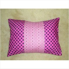 12 x 16 Lavender / Mauve / Dots Pillow Cover on eBid United States