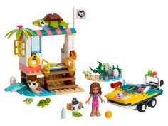 Buy LEGO Turtles Rescue Mission Set from This LEGO Friends set contains 229 pieces including 1 minifig. Shop Lego, Lego Store, Buy Lego, Lego Turtles, Baby Turtles, Legos, Lego Mini, Lego City, Toys