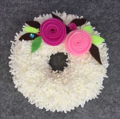 Handmade craft Felt rose